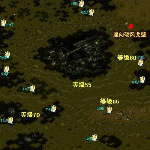 魔域BOSS分布图全介绍,魔域BOSS分布坐标大全[多图]图片2