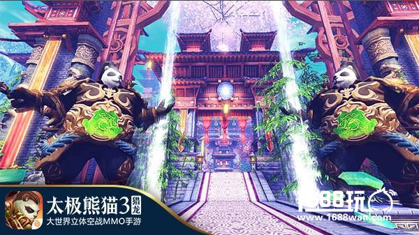 竹樱仙境《太极熊猫3:猎龙》隐者之里地图介绍[多图]图片3