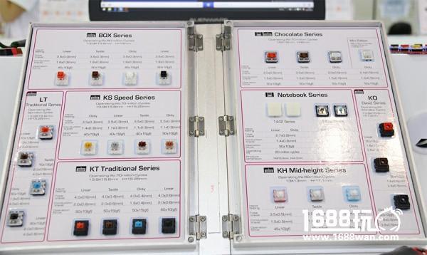 凯华Kailh携新轴体 纪念版键盘亮相香港电子展[多图]图片1