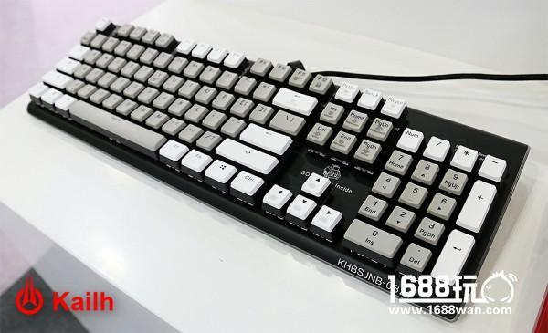 凯华Kailh携新轴体 纪念版键盘亮相香港电子展[多图]图片2
