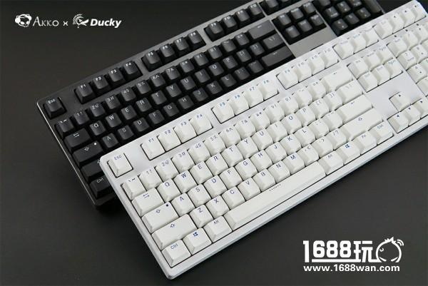 经典来袭!Akko Ducky发布3108 PBT二色版本机械键盘[多图]图片2