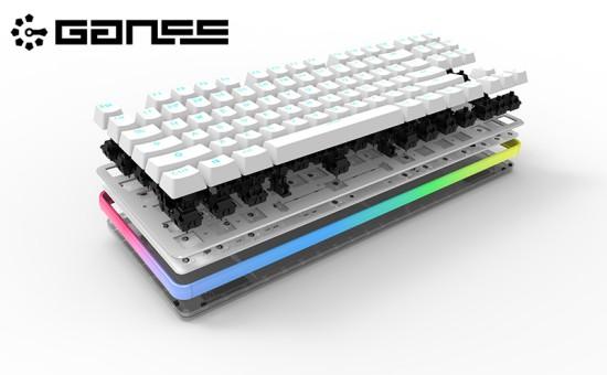 高斯GANSS GK87 360度彩光机械键盘京东众筹开启[多图]