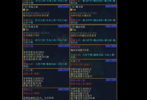 伏魔战记3.9j最全攻略之游戏套装介绍[多图]
