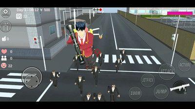 樱花校园模拟器中文汉化版图片1