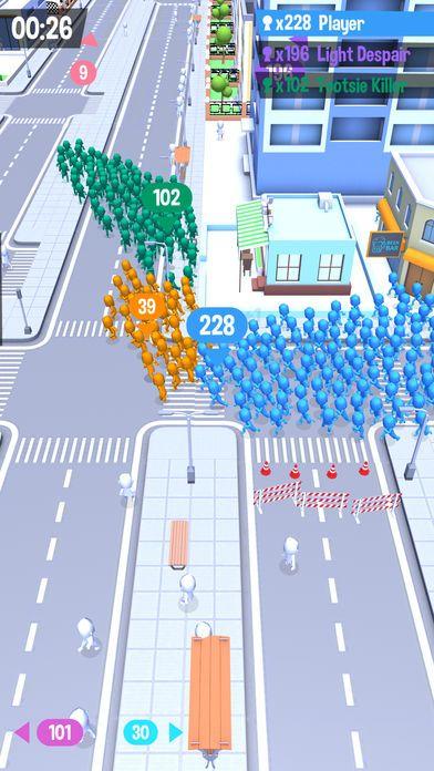 拥挤城市破解版无限金币内购版(Crowd City)图片1
