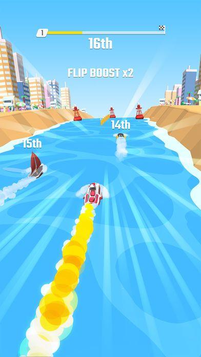 翻转赛艇版版(Flippy Race)图片2