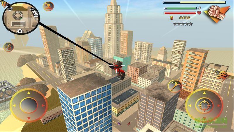 火柴人绳索英雄3警察射击游戏安卓版下载图片1
