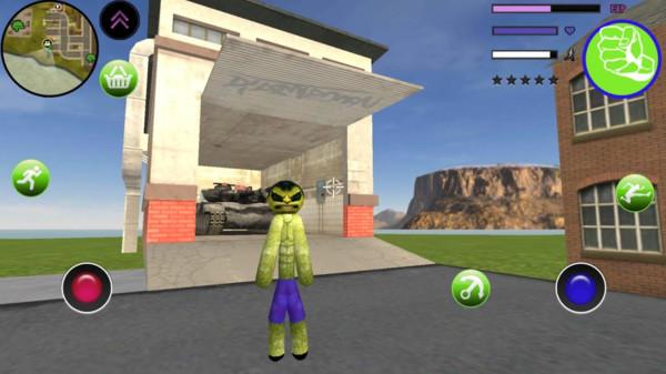 绿巨人火柴人绳索英雄游戏安卓版图片1