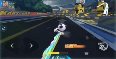 跑跑卡丁车手游灵岩环道怎么跑 新杯王赛灵岩环道近道在哪里图片1
