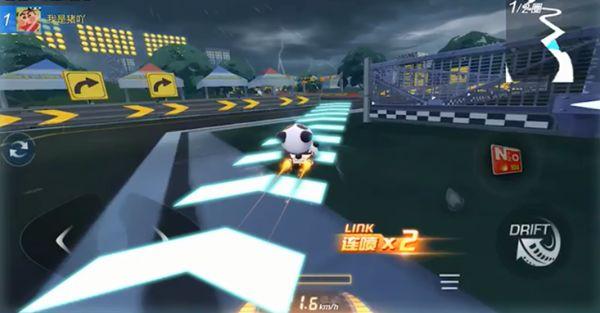 跑跑卡丁车手游灵岩环道怎么跑 新杯王赛灵岩环道近道在哪里图片3