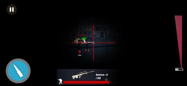 僵尸狙击兵枪攻击射击游戏图2