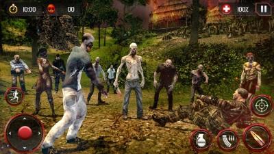 死亡狩猎僵尸游戏图1
