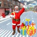 圣诞圣诞老人城驾驶