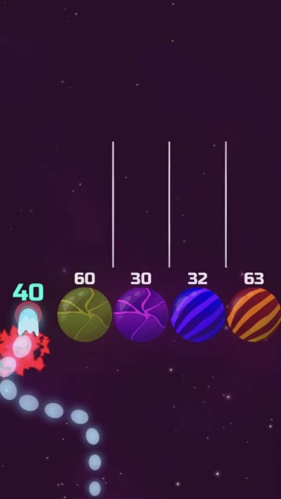 Comets vs Planets游戏图2