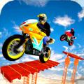 特技自行车摩托赛车的xtreme
