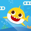 鲨鱼宝宝向上游
