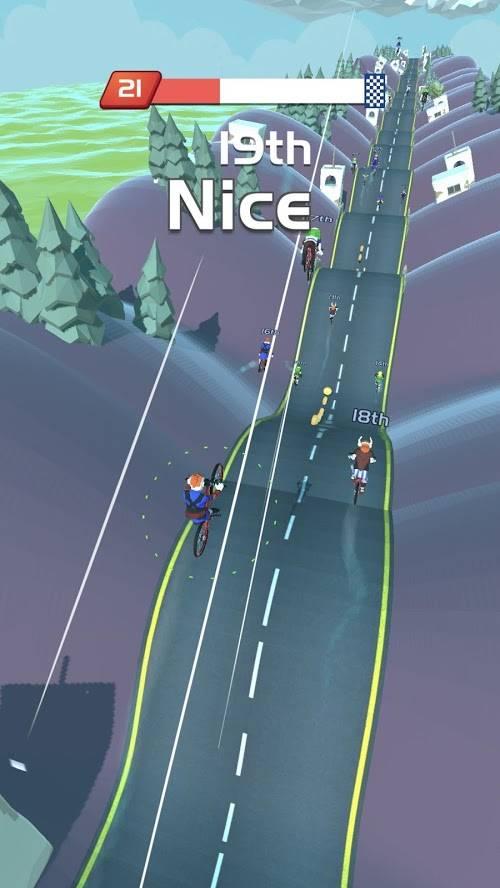 自行车山丘游戏图1