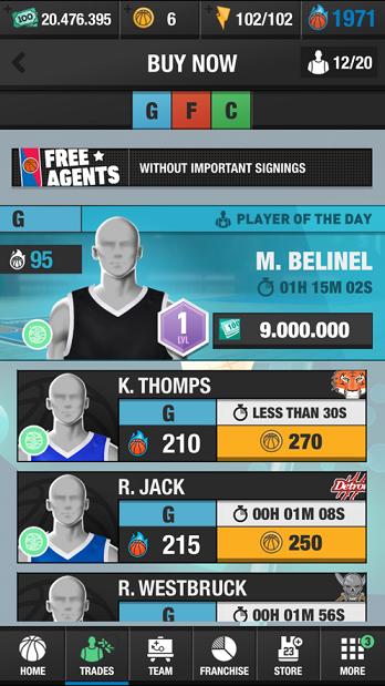 篮球大师联赛游戏图3