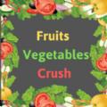 粉碎水果和蔬菜