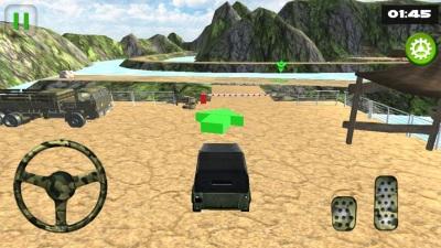 关路军队卡车模拟游戏图2