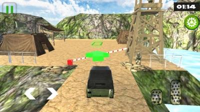 关路军队卡车模拟手机版图片2