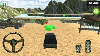 关路军队卡车模拟游戏图1