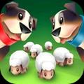 牧羊狗和小绵羊