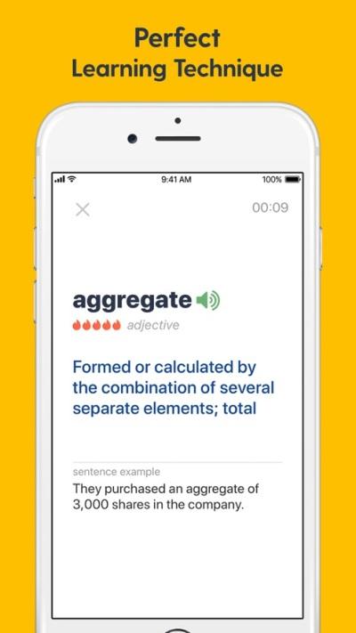 为托业学习英语单词app图3