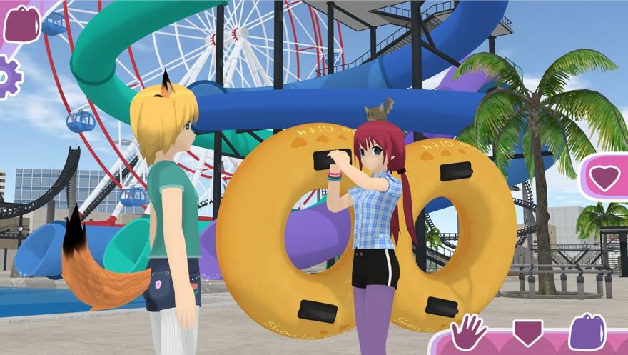 少女都市模拟器中文版无限金币免费版图片1