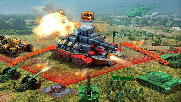 玩具绿色兵团无敌版图3