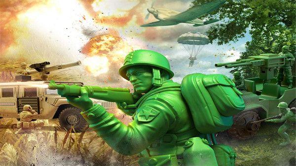 玩具绿色兵团手机版下载无敌版图片1