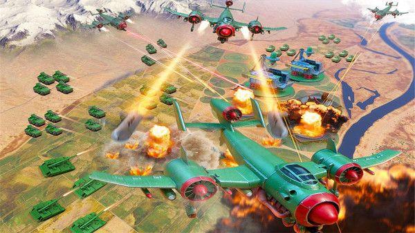 玩具绿色兵团无敌版图2