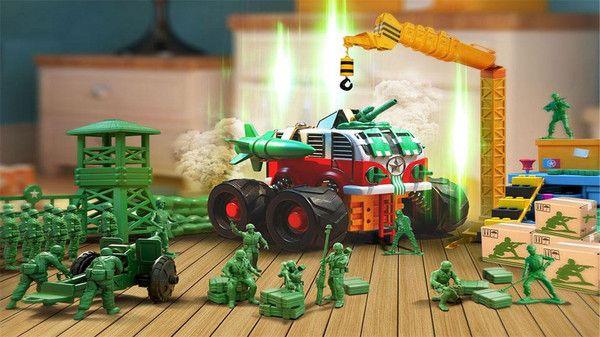 玩具绿色兵团无敌版图1