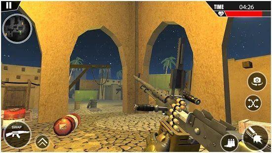 大枪战争射击3D游戏安卓版下载(Grand Gun War)图片1