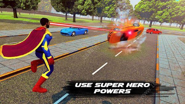 飞行英雄城市救援游戏图2
