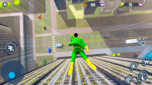 飞行英雄城市救援游戏图3