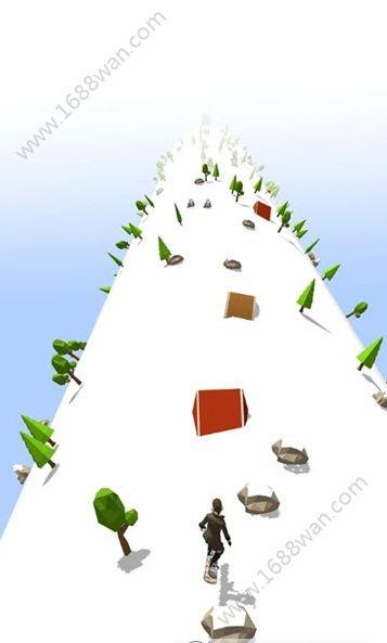 Ski Road Run游戏图1