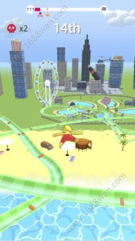 水上乐园滑梯竞速游戏图2