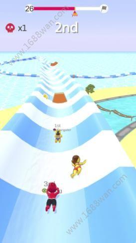 水上乐园滑梯竞速游戏图1