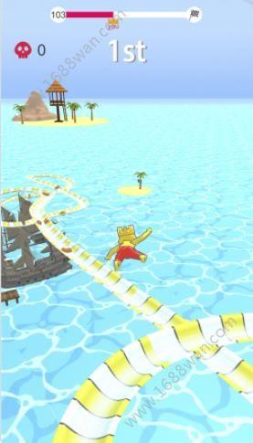 水上乐园滑梯竞速游戏安卓版下载(Aquapark.io)图片2