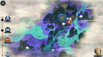 剑网3指尖江湖胭脂点雪在哪 金菊和神秘游侠位置图片6