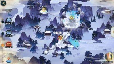 剑网3指尖江湖胭脂点雪在哪 金菊和神秘游侠位置图片2