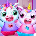 双胞胎宝宝独角兽日托