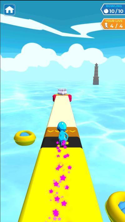 水上滑行保龄球安卓版图片1