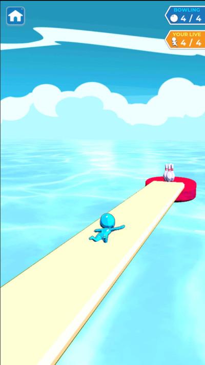 水上滑行保龄球游戏图3