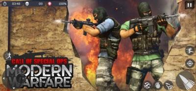 现代特别行动FPS游戏免费版图片1
