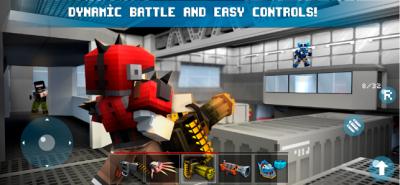 疯狂的枪手FPS和皇家战役游戏图2