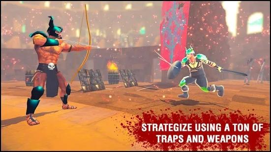 沙与血之王角斗士竞技场游戏图2