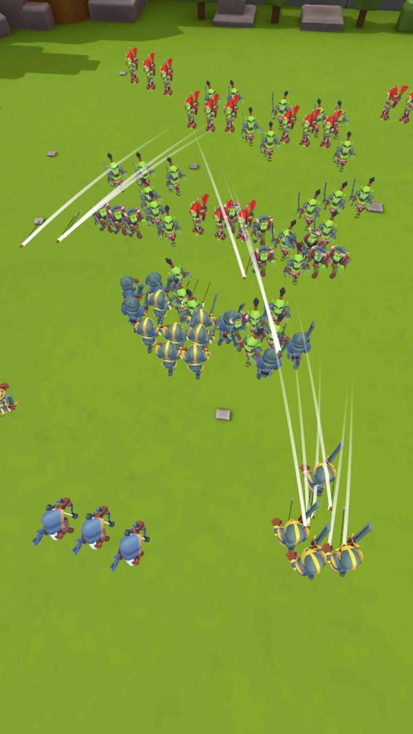 人类军团冲突游戏图1