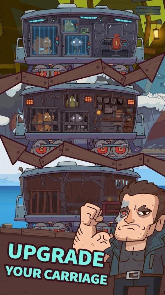 闲置铁路游戏图1